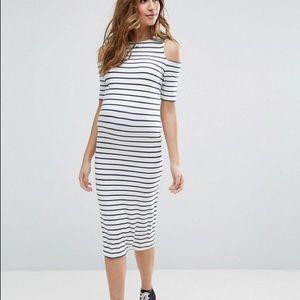 ASOS Open Sleeve Stretch Maternity Dress